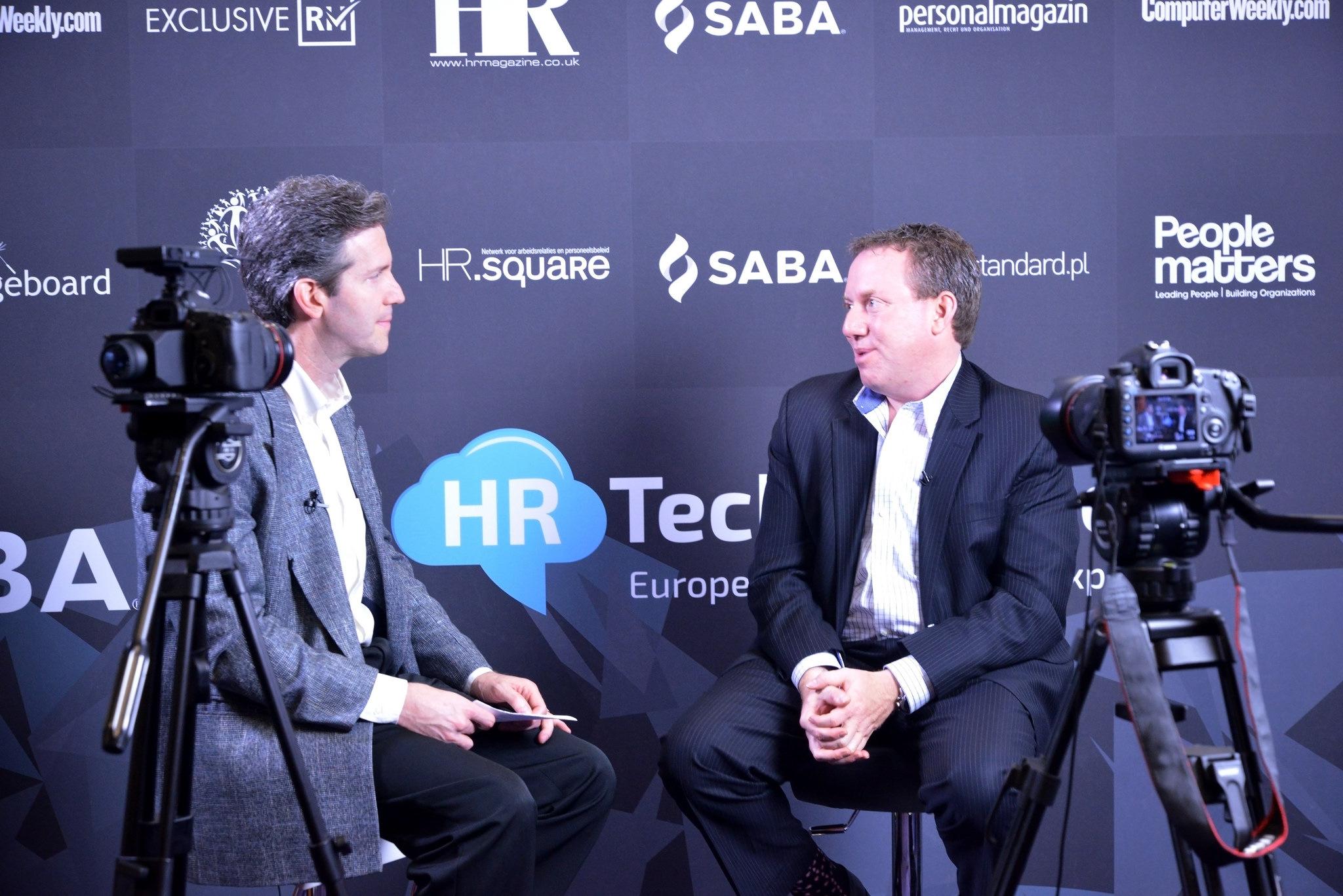 Ward Christman & Jason Averbook interview at HR Tech Europe #HRTech