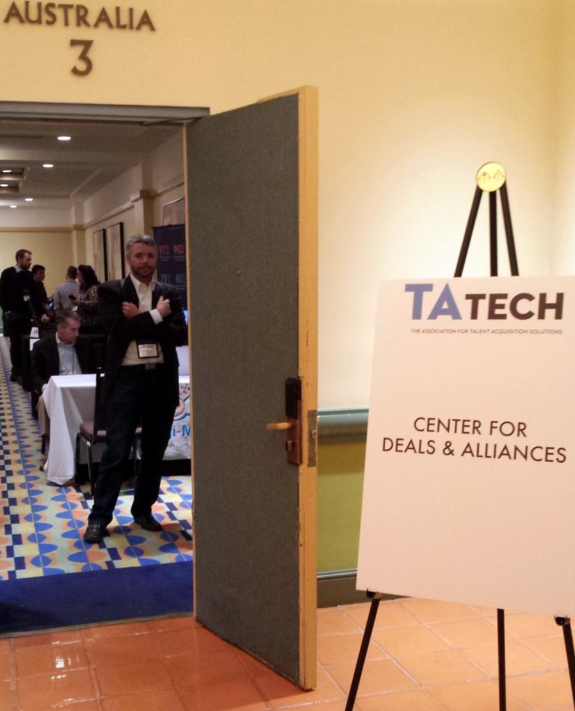 TAtech Center for Deals & Alliances #HRTech