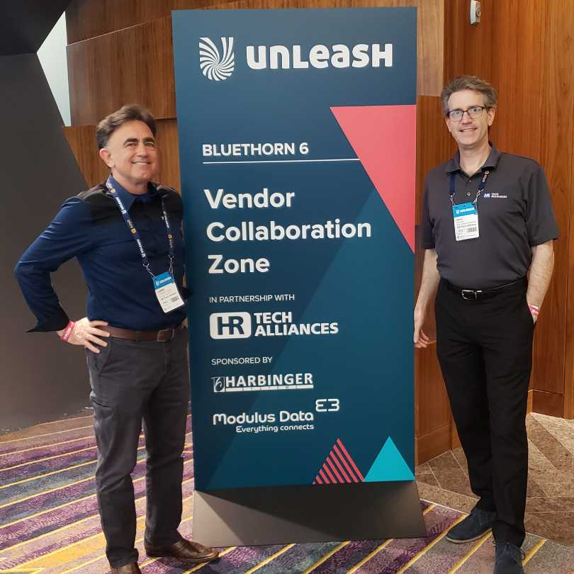 #UNLEASH19 #Collaboration Zone #HRTech #Alliances Larry Cummings & Ward Christman Advisor Partnerships