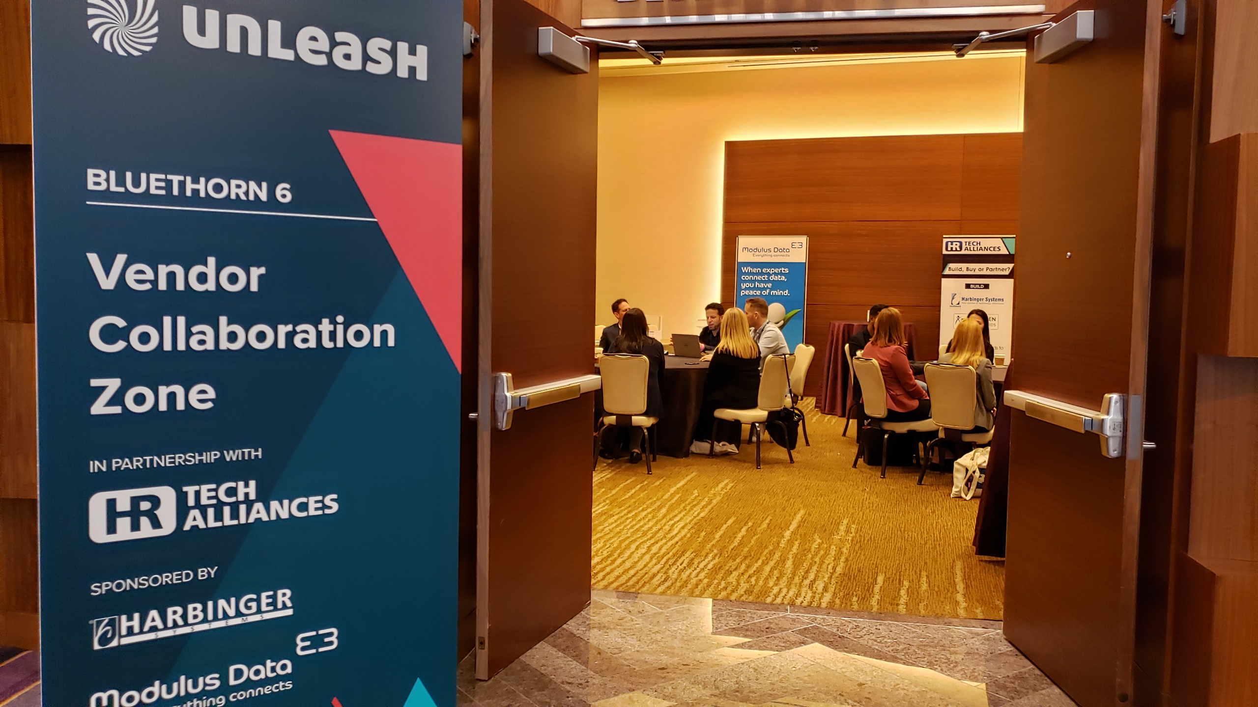 #UNLEASH19 #Collaboration Zone Round Table Topic Sessions #HRTech #Alliances #Partnerships