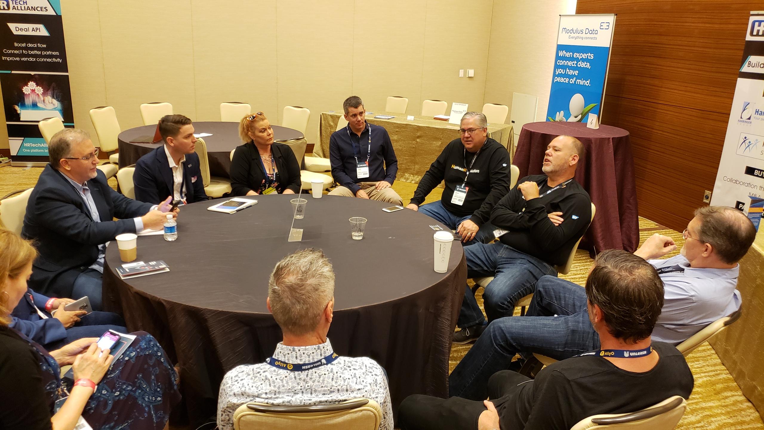 #UNLEASH19 #Collaboration Zone Todd Asevedo SAP SuccessFactors #HRTech #Alliances #Partnerships